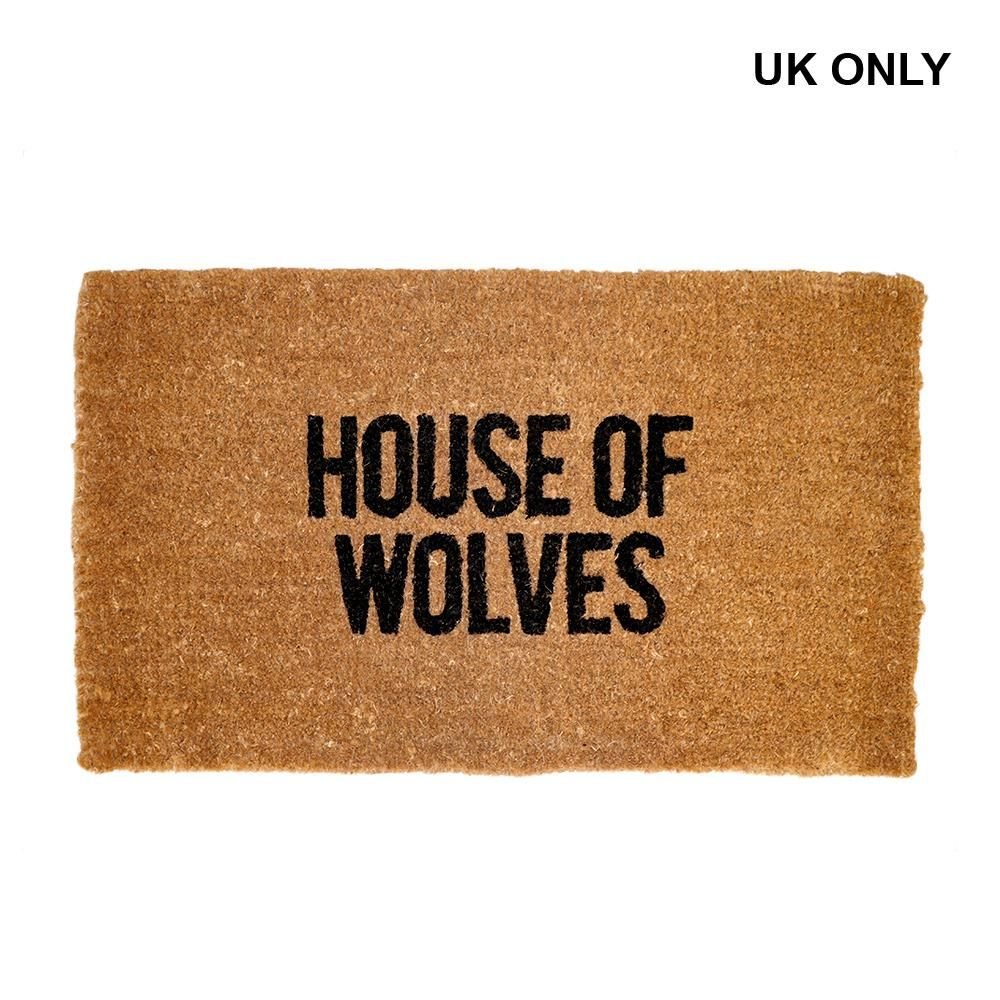 House Of Wolves Doormat Uk Only House Of Wolves Door Mat House