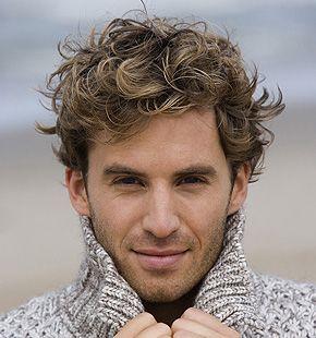 Curly Hair Wave Perm Short Hair Body Wave Hair Mens Hairstyles