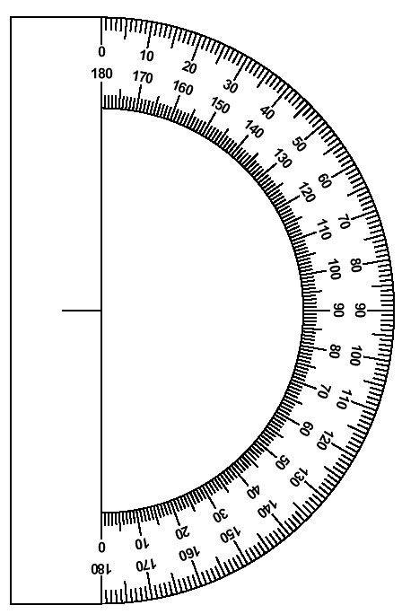 Protractor Image Actividades De Geometria Angulos Matematicas Matematicas De Escuela Primaria