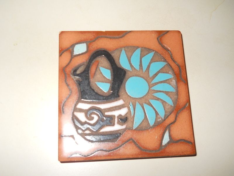 Native American Trivet Coaster Tile Zen Crafting