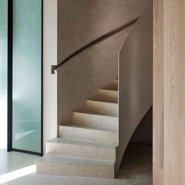 Recessed Handrail Detail Interior Staircase Interior Design Awards Stairs Design
