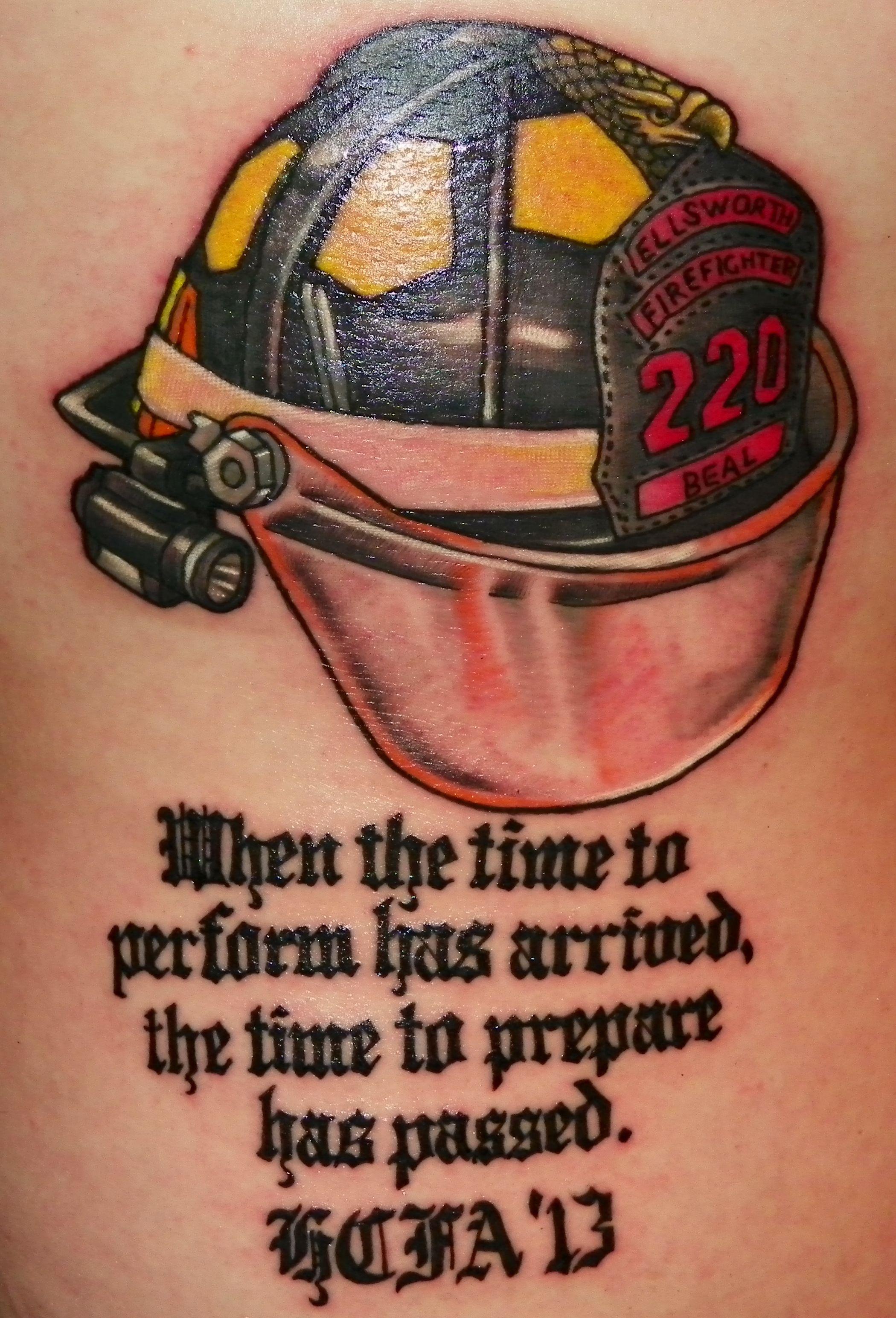 gallery for u003e firefighter helmet tattoos tattoos pinterest rh pinterest com Maltese Cross Firefighter Tattoos firefighter helmet tattoos designs