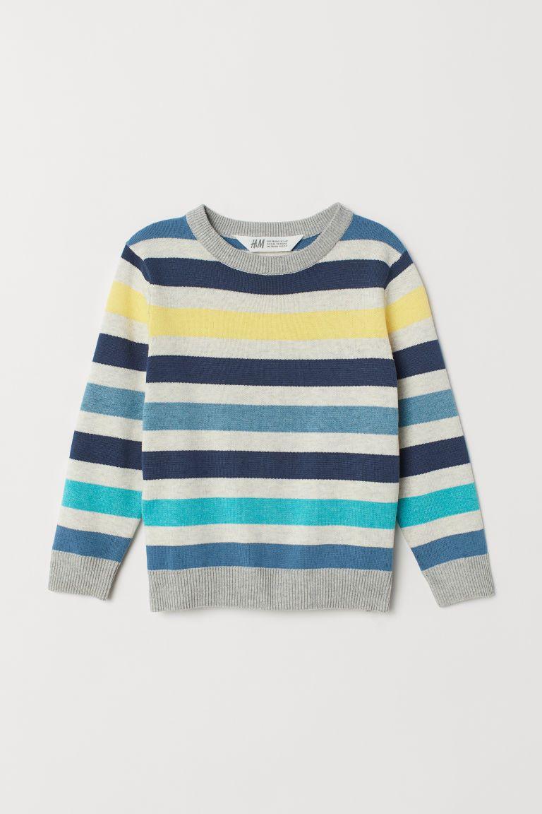 94ffc6d60ab6 Fine-knit Printed Sweater