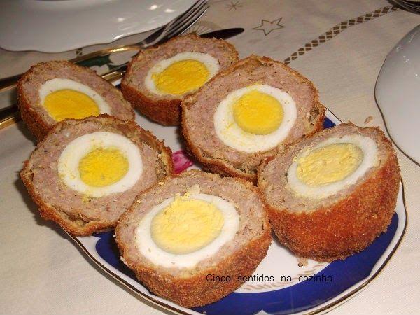 Cinco sentidos na cozinha: Ovos à escocesa