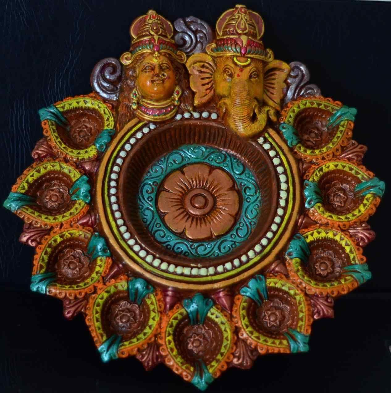 New post (diya decoration using glitters) has been published on ... for Diya Decoration Using Glitters  535wja