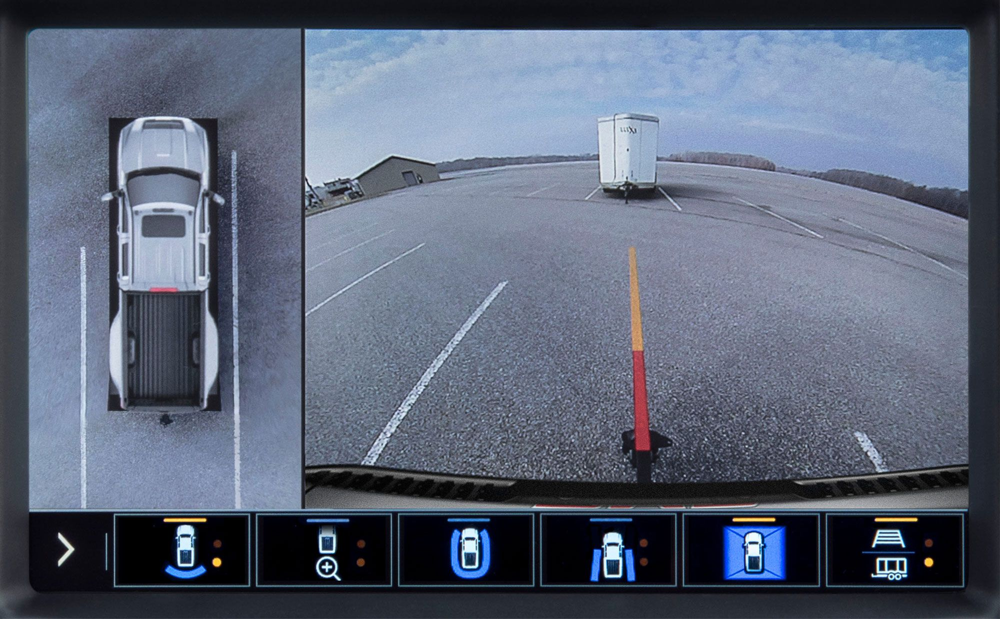 Invisible Tow Behind Gmc Launches Transparent Trailer View