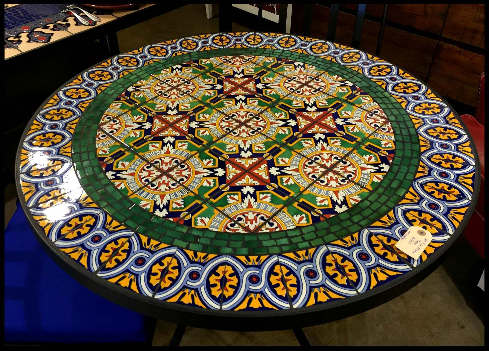 Tile And Gl Mosaic Tables