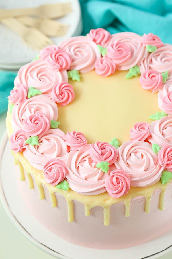 Ice Cream Cake Decorating Tutorial Recipe Mothers Day Cakes