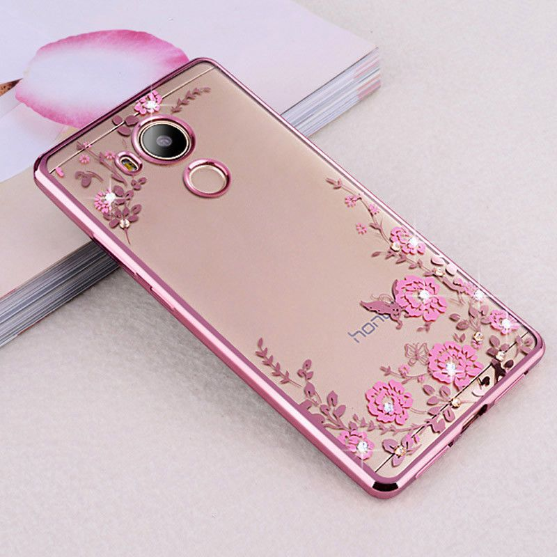 huge discount add6f fc0ac $1.99 - Soft Tpu Plating Phone Case For Huawei Honor 4C Pro / 6C Pro ...