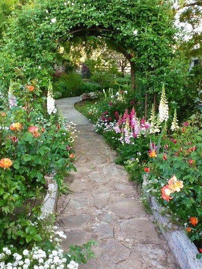 Pin de PERYTON en OUTSIDE Pinterest Jardín, Camino de flores y