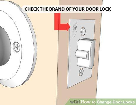 How To Change Door Locks With Pictures Door Locks Smart Door Locks Change Locks