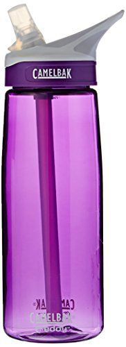 CamelBak Eddy Water Bottle, Acai, .75-Liter. For product info go to:  https://all4hiking.com/products/camelbak-eddy-water-bottle-acai-75-liter/