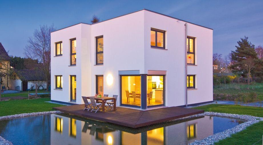 Was Ist Ein Bauhaus das haus przybilla fertighaus weiss ist ein modernes bauhaus in