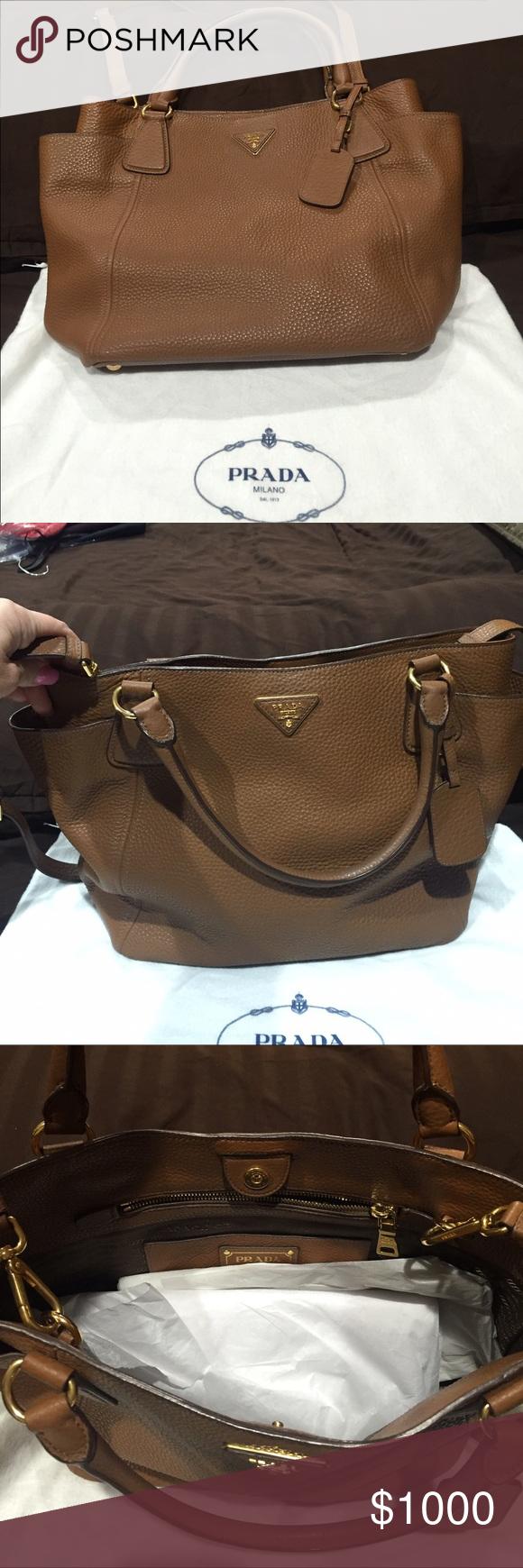 Prada Diano Beautiful Prada  satchel & crossbody never been used!!! No Trades please! Prada Bags Satchels