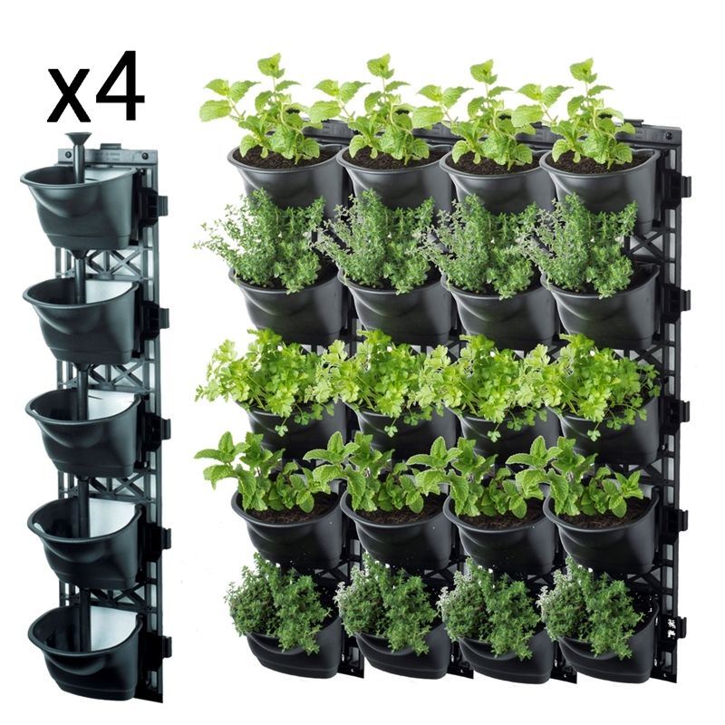 MAZE Vertical Garden Vertical garden wall planter