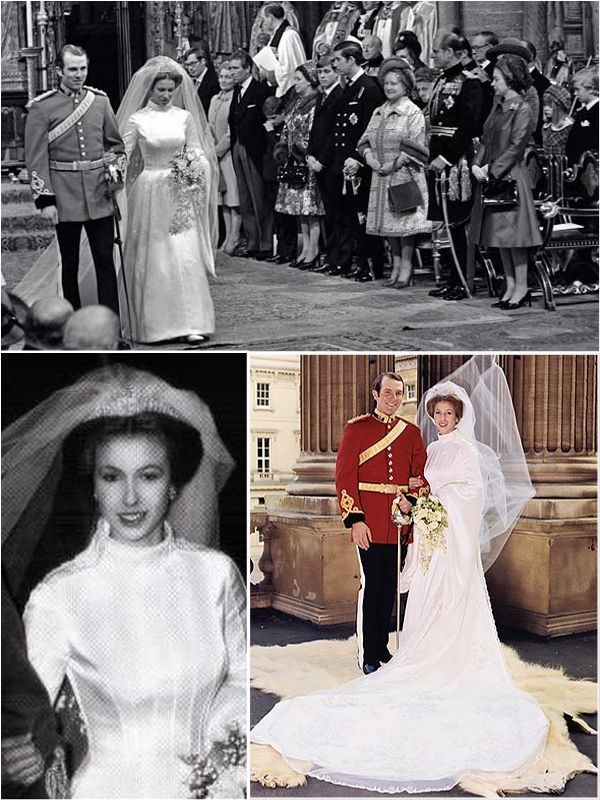 Iconic wedding dresses of the \'70s | Wedding dress, Princess and Royals