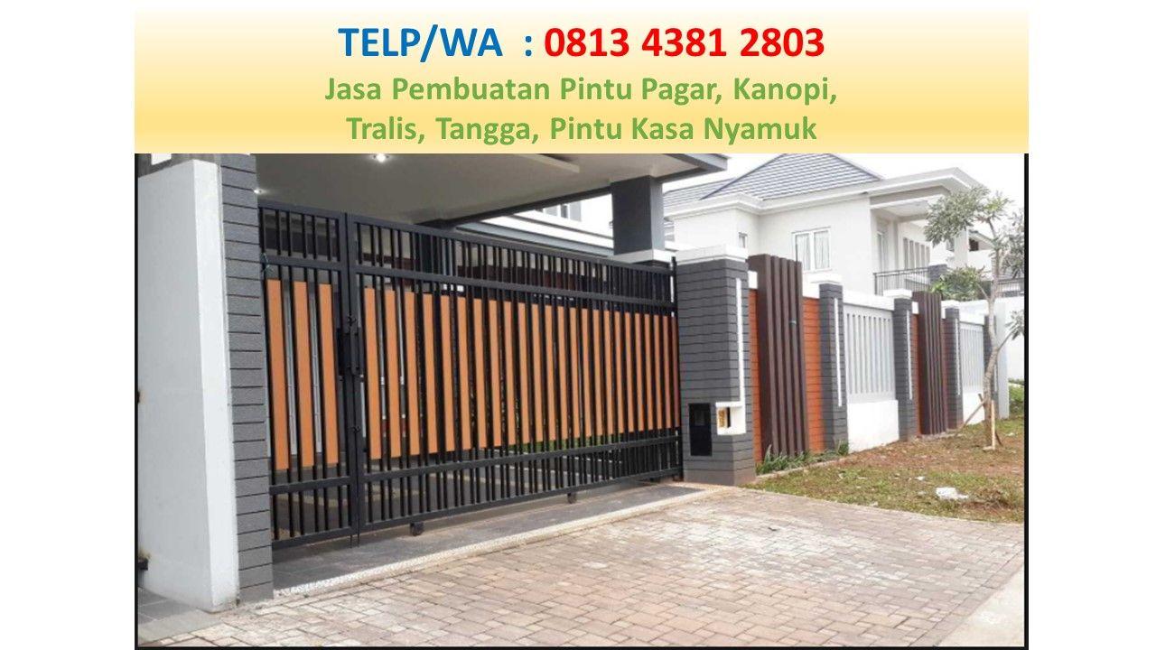 Pin Di CALL/WA: 0813 4381 2803 Harga Pagar Minimalis Sidoarjo