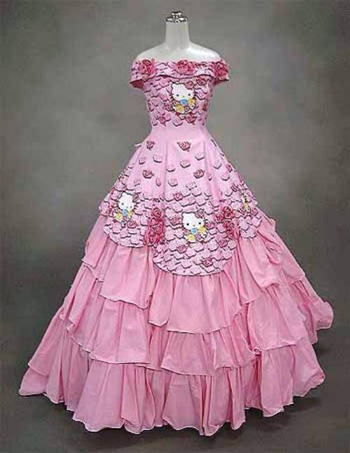 hello kitty prom dress | lol FUNNY! | Pinterest | Hello kitty and Prom