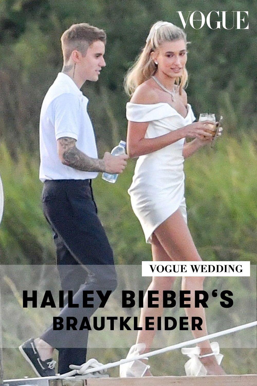 Hailey Biebers Brautkleider Von Diesen Labels Stammten Sie Brautkleid Brautkleid Designer Instagram Hochzeit