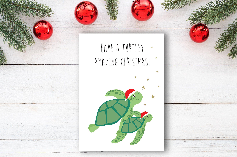 Christmas Cards Pun Funny Christmas Card Christmas Card Funny Etsy Funny Christmas Cards Diy Funny Christmas Cards Painted Christmas Cards