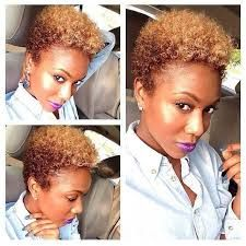 image result for flat iron top shaved twa natural hair