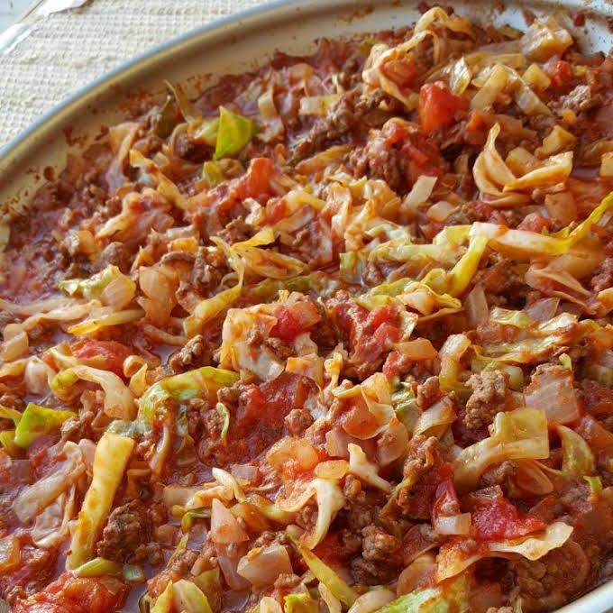 Photo of Amish One-Pan Ground Beef and Cabbage Skillet Recipe | Yumml…