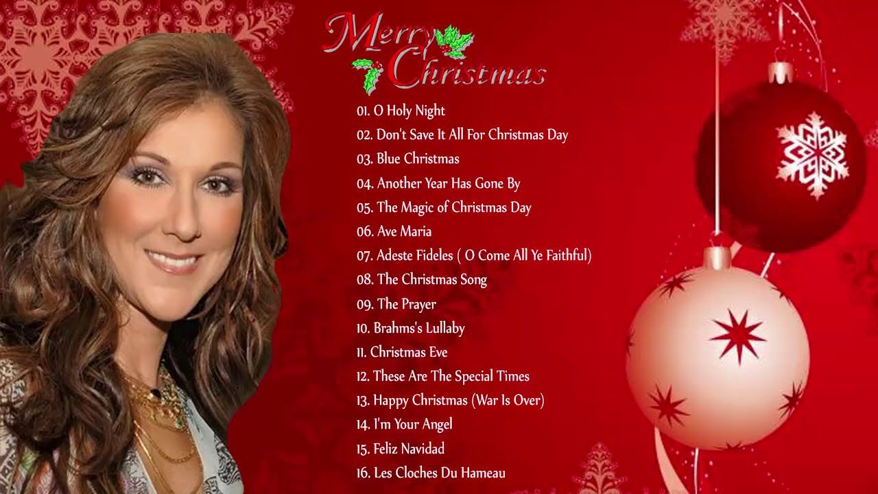 Celine Dion Christmas Songs Full Album 2018 Celine Dion Greatest Hits Best Christmas Songs Celine Dion Christmas Christmas Albums