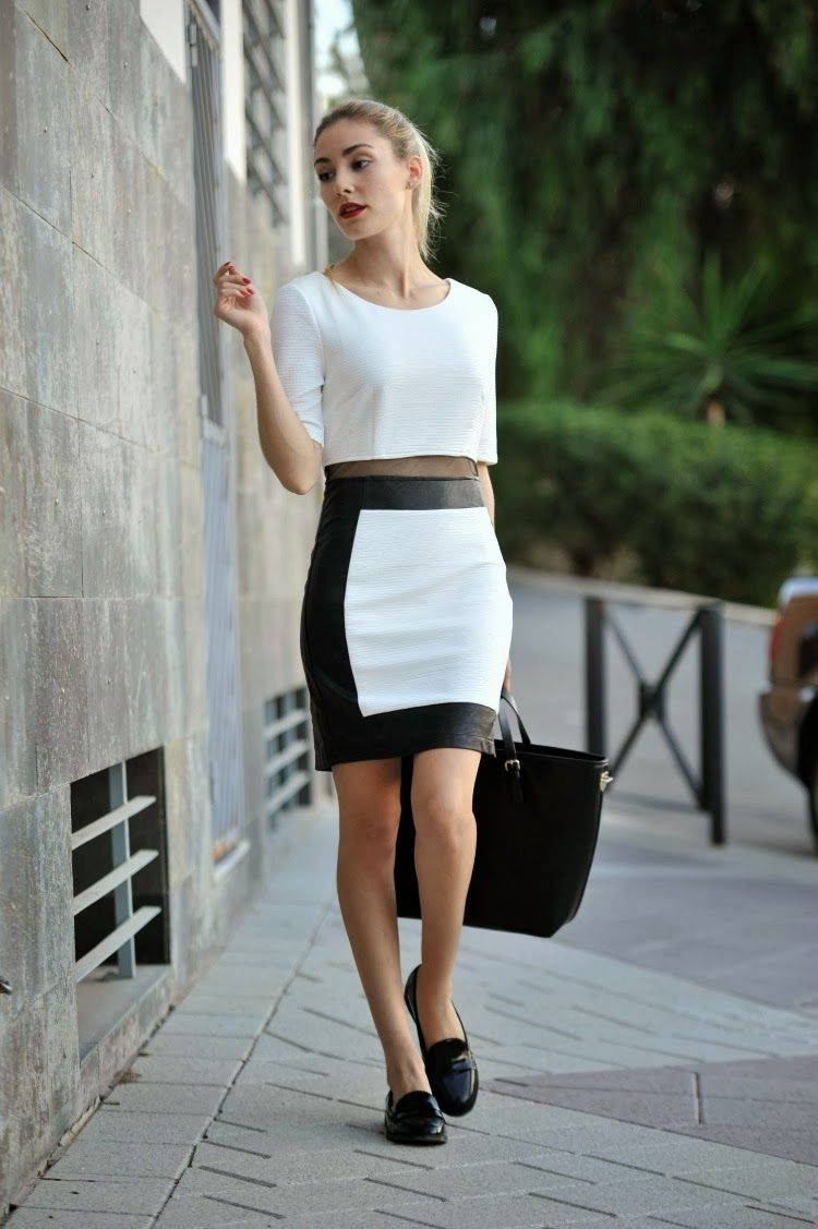 Blog Personal Style   Blog de moda   Street Style: Black and White Look