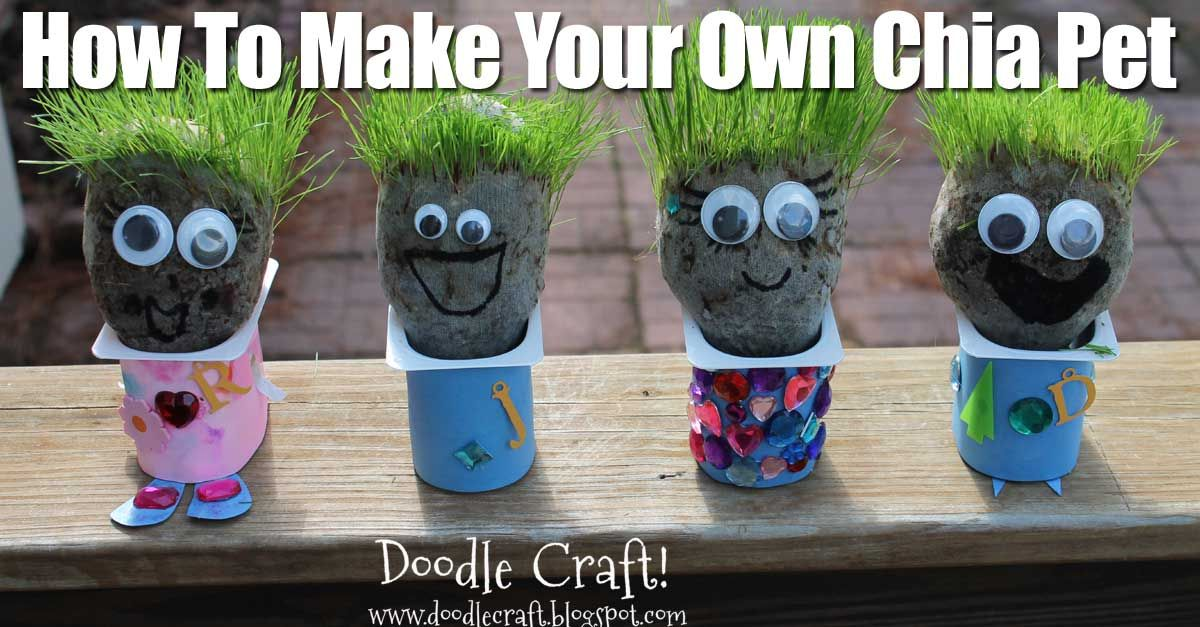 10 Frugal Gardening Tricks For More Effective Growing Chia Pet Seed Activities For Kids Summer Crafts For Kids