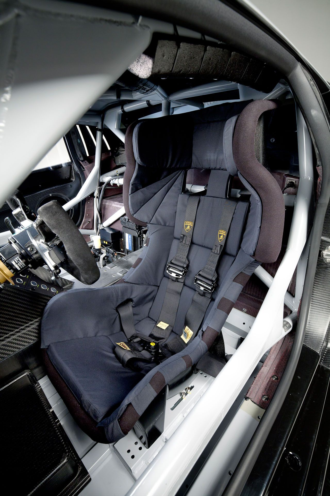 Very Impressive Seat Inside The Lamborghini Huracan GT3 Race Car