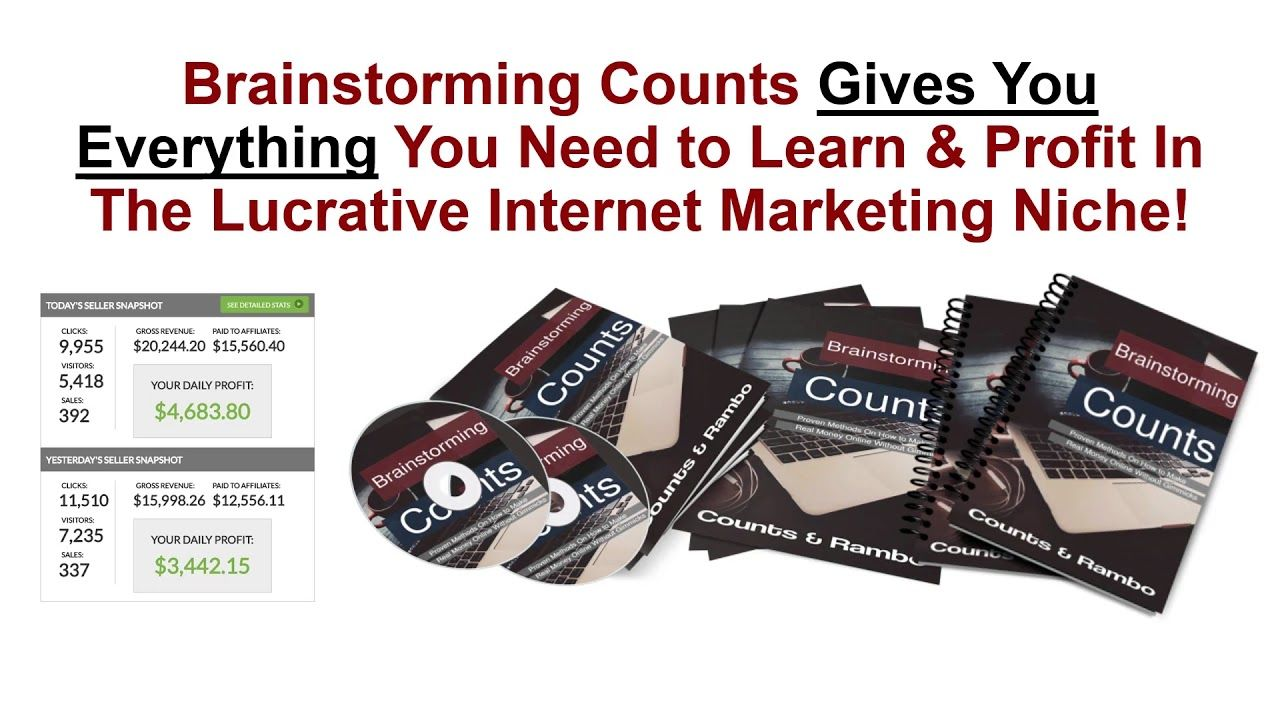 Brainstorming Counts PLR Firesale COUPON Discount Code