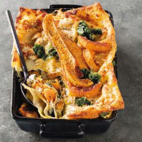 Roasted Butternut Ricotta And Swiss Chard Lasagne Woolworths Co Za In 2020 Baked Dishes Roasted Butternut Hearty Dish