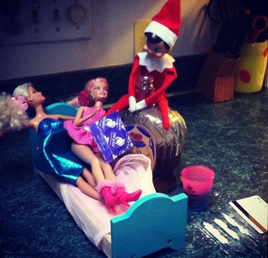 Popsugar Love Sex: Naughty Elf On The Shelf Pictures