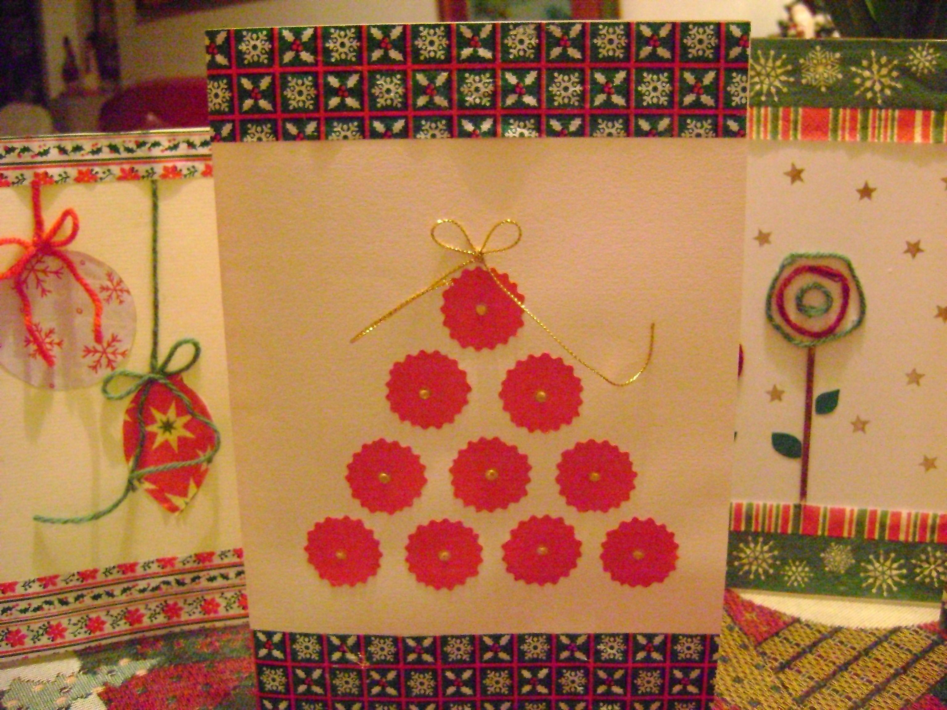 Tarjetas de navidad hechas a mano en tarjetas de navidad - Ideas postales navidad ...