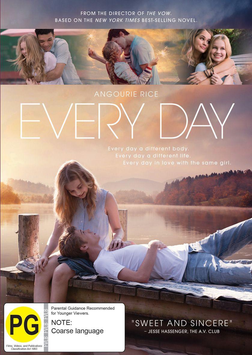 Every Day Dvd Romantic Films Romantic Movies Best Romantic Movies