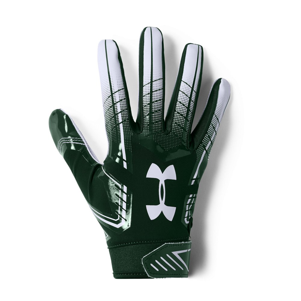 Under Armour Men/'s UA 2018 F6 Football Receivers Gloves Running Back Gloves