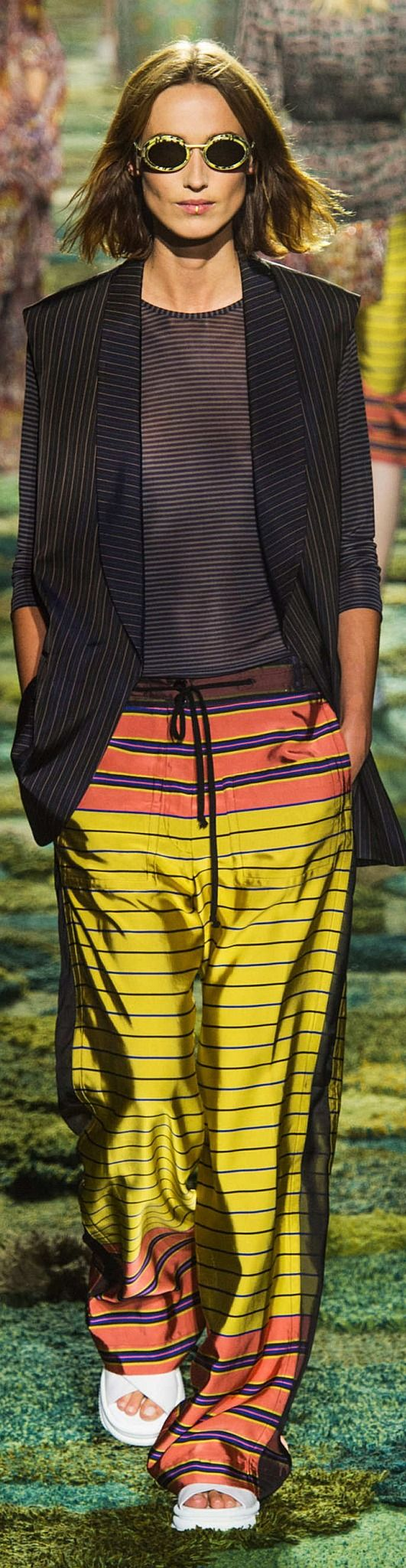 Dries Van Noten Collection Spring 2015 pin courtesy of James Mitchell