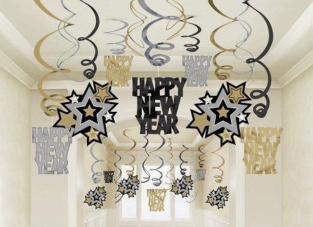 Ideas Sencillas para Decorar en Año Nuevo3 New Years Pinterest