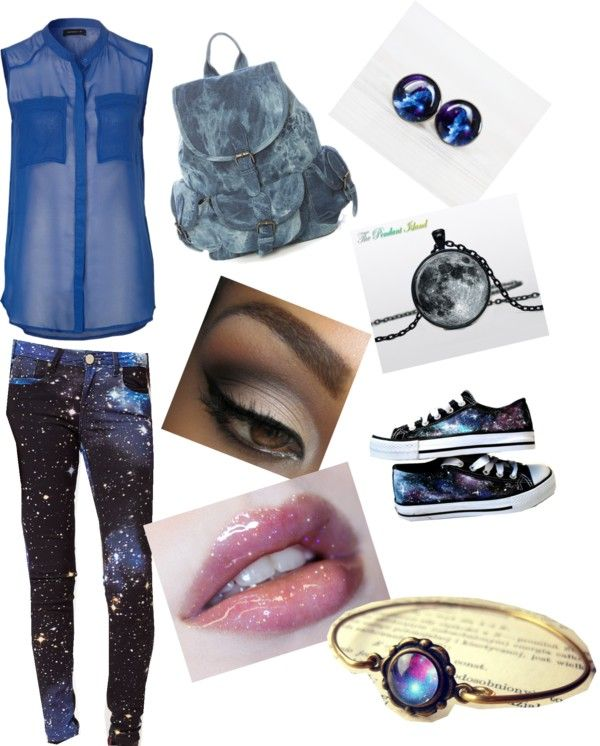 """""""A day in space"""" by victoria-grove ❤ liked on Polyvore"""