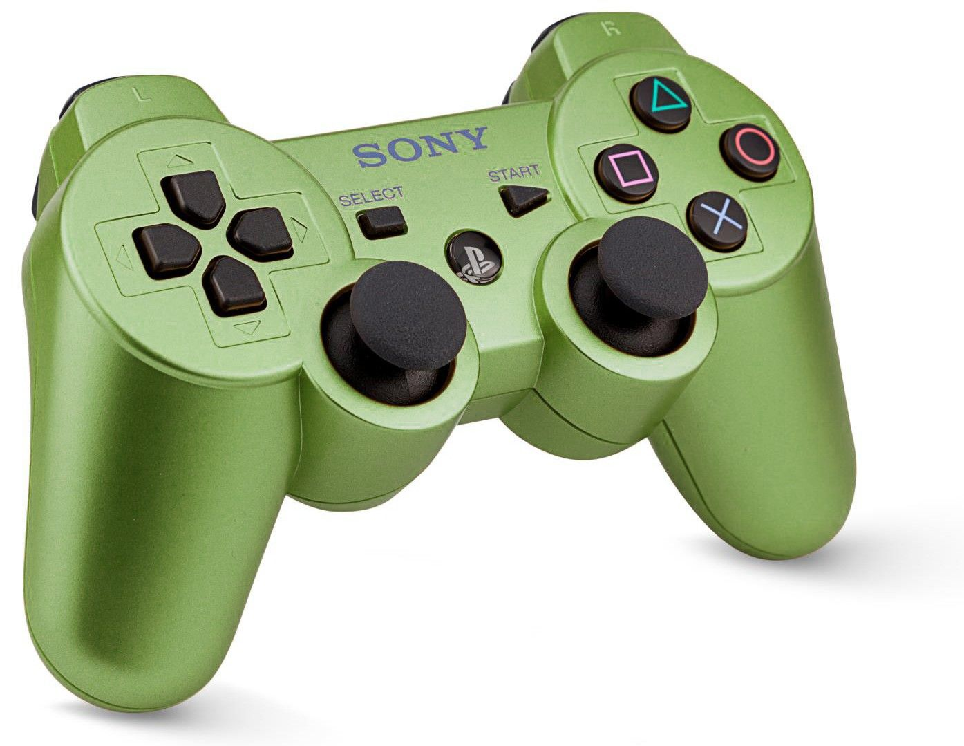 Custom PS3 Controller Wireless Olive Green Without Mods