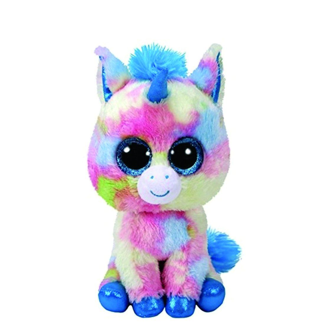 412535f3749 TY Beanie Boo Small Blitz the Unicorn Soft Toy