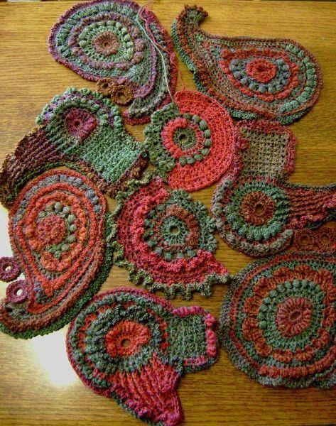 Best 12 Freeform Crochet Scrumble Patterns - Freeform ...