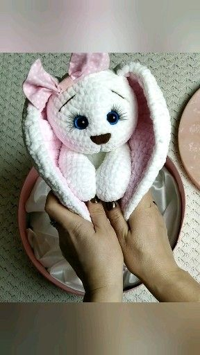 Crochet bunny pattern, easter bunny pattern, personalized bunny crochet for baby. Amigurumi pattern