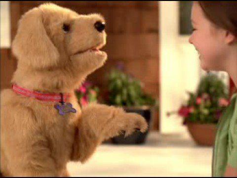 furreal friends uk tv advert my lovin 39 pup fur real. Black Bedroom Furniture Sets. Home Design Ideas