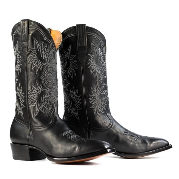 Badlands In Black French Toe Boots Boots Men Western Cowboy Boots