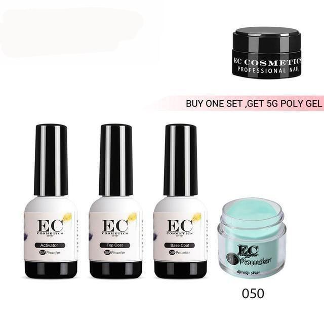 Salon Quality High Gloss Dipping Powder Nail Polish Kit