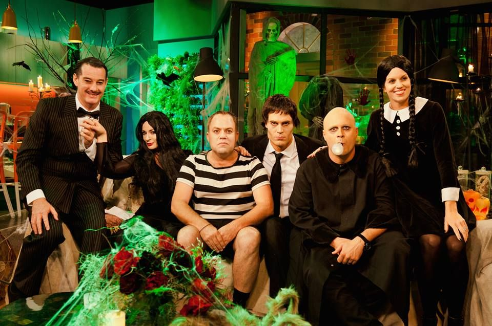 As The Addams Family On Set Of The Living Room, Channel Ten Part 71