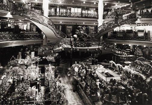 printemps department store paris history shopping