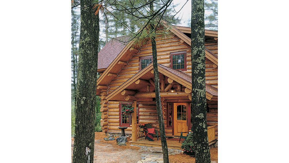 A Norwegian Inspired Cottage In Wisconsin Log Homes Cottage Red Barns