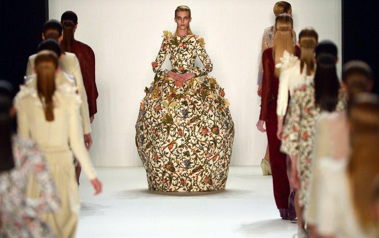Matryoshka dress by Kano.